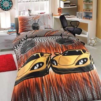 Комплект постельного белья Hobby SPEED ранфорс жёлтый