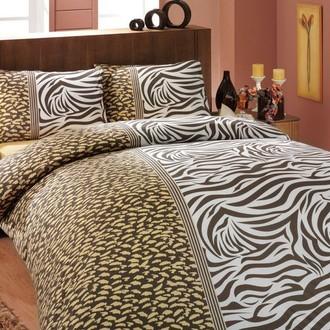 Комплект постельного белья Hobby VIRGINIA ранфорс коричневый