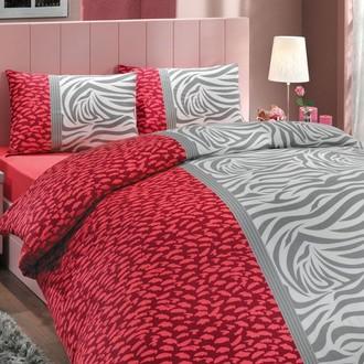 Комплект постельного белья Hobby VIRGINIA ранфорс красный