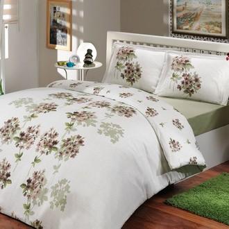 Постельное белье Hobby Home Collection VIYELLA хлопковый ранфорс коричневый