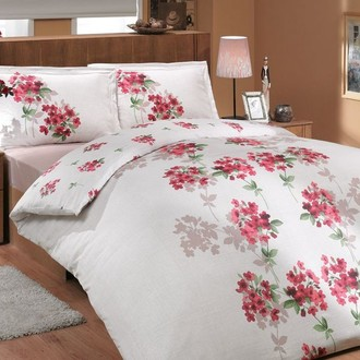 Комплект постельного белья Hobby VIYELLA ранфорс красный