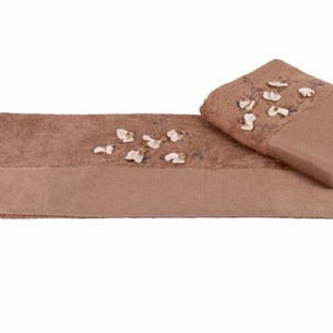Полотенце Hobby BEYRA коричневый 50х90