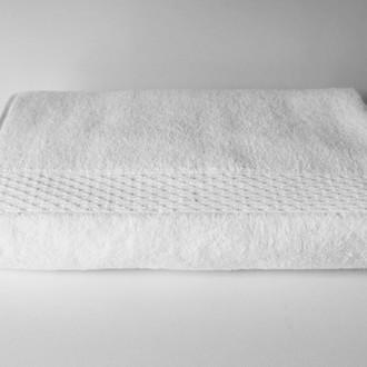 Полотенце для ванной Hobby Home Collection FIRUZE хлопковая махра белый