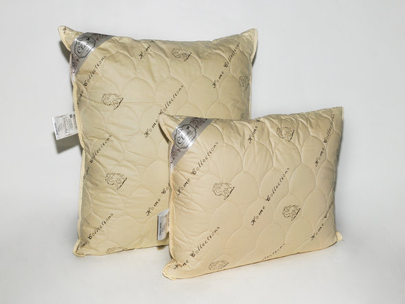 Подушка Cleo КОМФОРТ верблюжья шерсть 50*70, фото, фотография