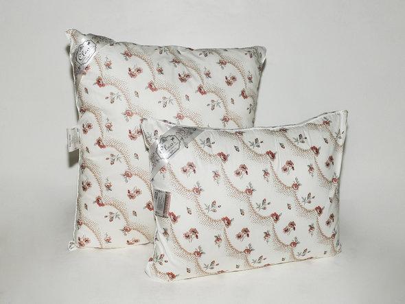 Подушка Cleo ПРЕМИУМ лебяжий пух + поплин 70*70, фото, фотография