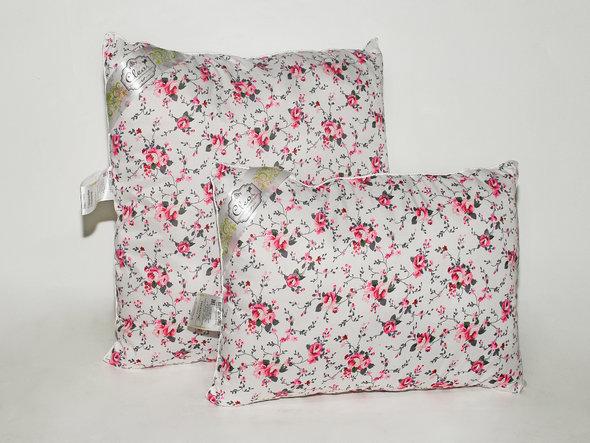 Подушка Cleo ЭКОНОМ цветочек 70*70, фото, фотография