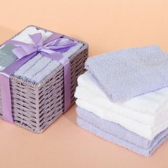 Набор полотенец в подарочной упаковке Modalin PENNY светло-лавандовый