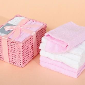 Набор полотенец в подарочной упаковке Modalin PENNY розовый