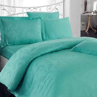 Комплект постельного белья Hobby DIAMOND FLOWER зелёный