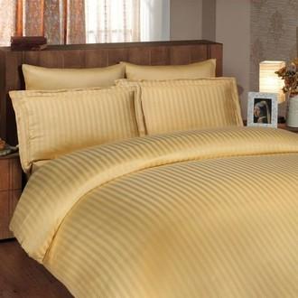 Комплект постельного белья Hobby DIAMOND STRIPE золотой