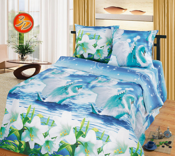 Комплект постельного белья Cleo B-315 1,5 спальный, фото, фотография