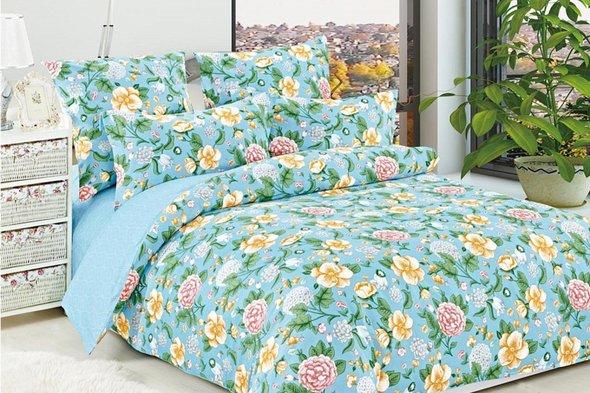 Комплект постельного белья Cleo B-328 евро, фото, фотография