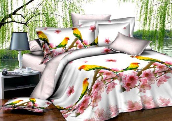 Комплект постельного белья Cleo B-343 2-х спальный, фото, фотография