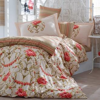 Комплект постельного белья Hobby ORNELLA поплин золотой
