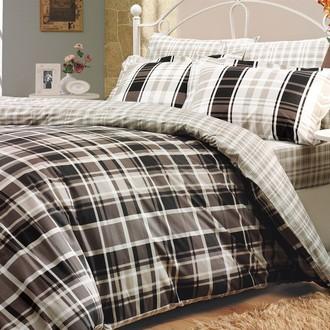 Комплект постельного белья Hobby SUELITA поплин коричневый