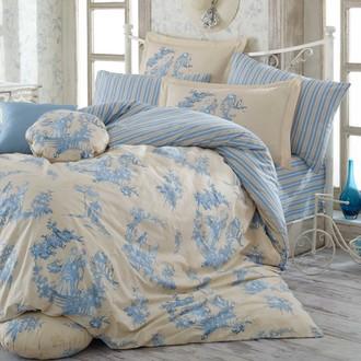 Комплект постельного белья Hobby VANESSA поплин синий