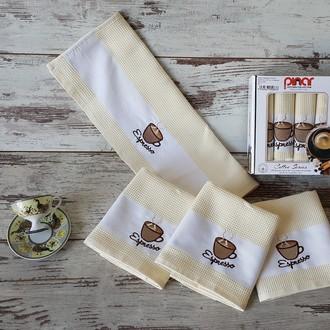 Набор полотенец Pinar KULA кофейный V1