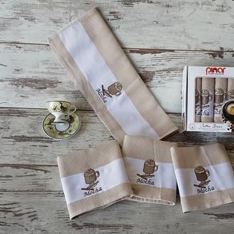 Набор полотенец Pinar KULA кофейный V3