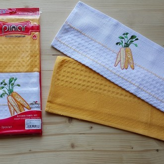 Набор полотенец Pinar APLIKA V2