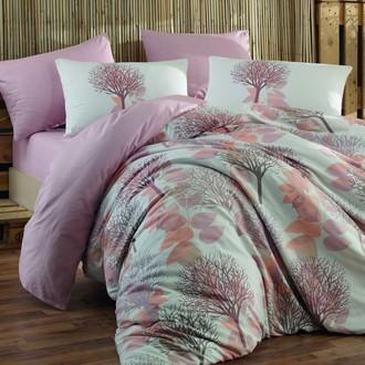 Комплект постельного белья Hobby LORELLA ранфорс персиковый