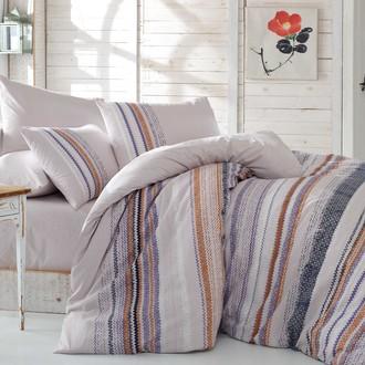 Комплект постельного белья Hobby MILENA ранфорс серый