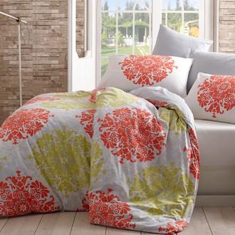 Комплект постельного белья Hobby AURA ранфорс красный