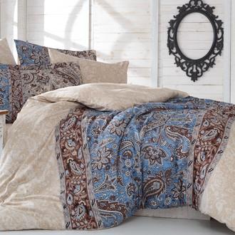 Комплект постельного белья Hobby CATERINA сатин коричневый