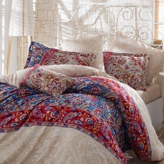 Комплект постельного белья Hobby CATERINA сатин красный