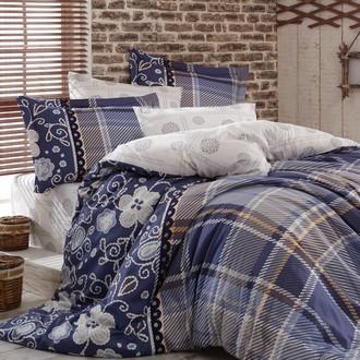 Комплект постельного белья Hobby MONICA сатин синий