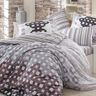 Комплект постельного белья Hobby MARSELLA сатин чёрный