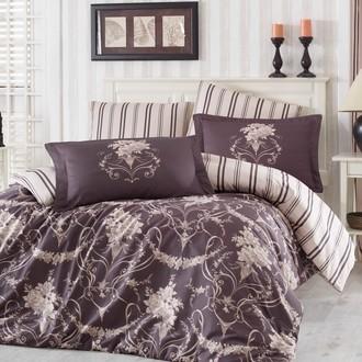 Комплект постельного белья Hobby ORNELLA сатин бежевый