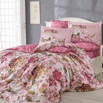 Комплект постельного белья Hobby ROSANNA сатин розовый