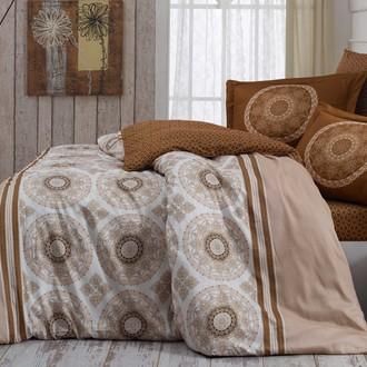 Комплект постельного белья Hobby SILVANA сатин бежевый