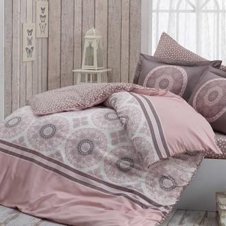 Комплект постельного белья Hobby SILVANA сатин розовый