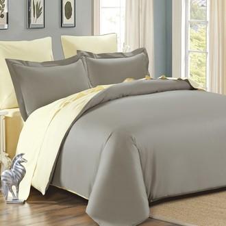 Комплект постельного белья Modalin SANFORD стоне+кремовый