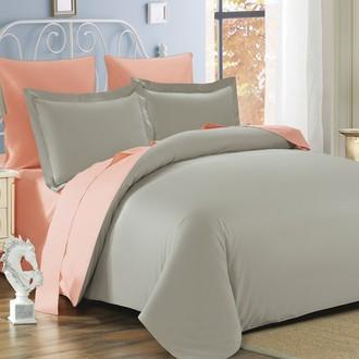 Комплект постельного белья Modalin SANFORD бежевый+абрикосовый
