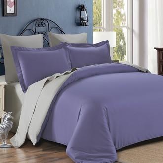 Комплект постельного белья Modalin SANFORD лаванда+бежевый