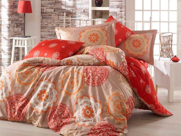 Комплект постельного белья Hobby OTTOMAN сатин золотой семейный, фото, фотография