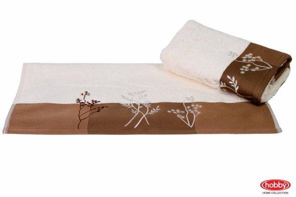 Полотенце Hobby FLORA кремовый 50*90, фото, фотография