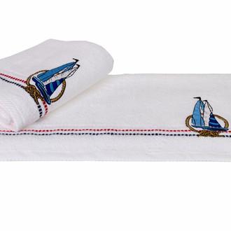 Полотенце Hobby MARINA белый парусник