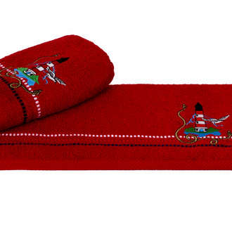 Полотенце Hobby MARINA красный маяк