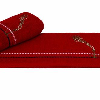 Полотенце Hobby MARINA красный якорь