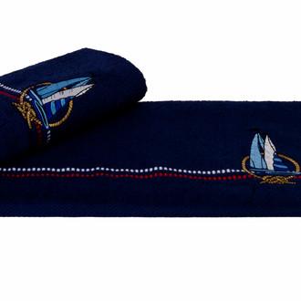 Полотенце Hobby MARINA синий парусник