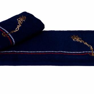 Полотенце Hobby MARINA синий якорь