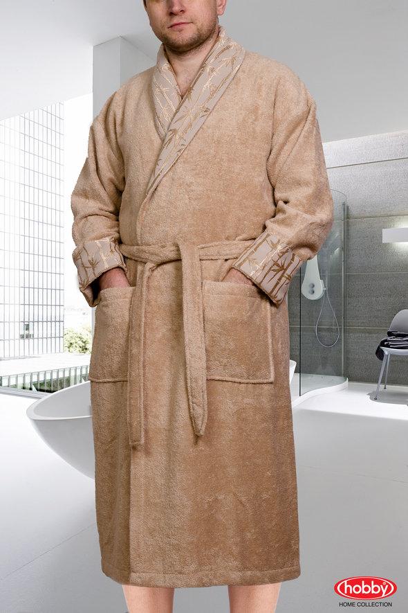 Халат Hobby ELIZA бежевый XL, фото, фотография