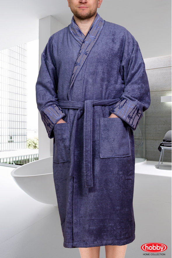 Халат Hobby ELIZA серый 2XL, фото, фотография