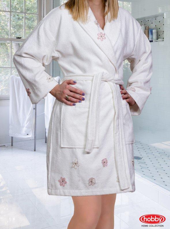 Халат Hobby JANET кремовый L, фото, фотография