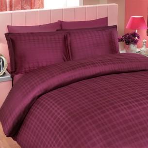 Покрывало Hobby DIAMOND PLAID тёмно-фиолетовый 220х240