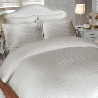 Комплект постельного белья Hobby DIAMOND HOUNDSTOOTH кремовый