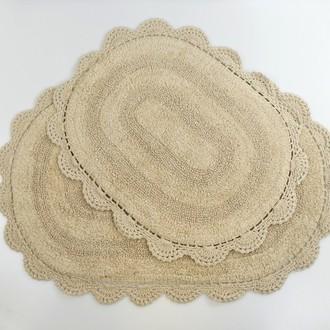 Набор ковриков для ванной Modalin DIANA кофейный